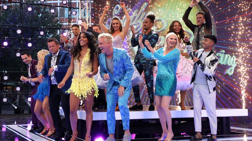 """Cast von """"Strictly Come Dancing"""" 2019"""