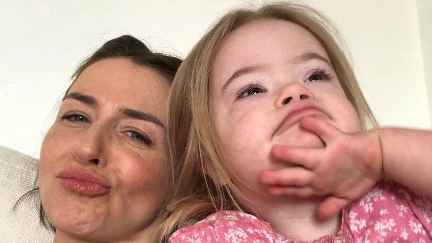 Caterina Scorsone und ihre Tochter Pippa