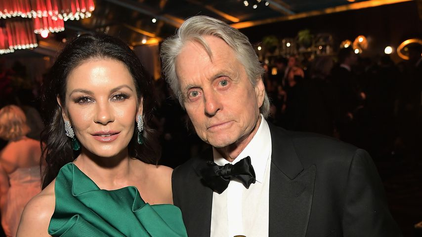 Catherine Zeta-Jones und Michael Douglas bei der Golden Globes After Party 2019 von Netflix
