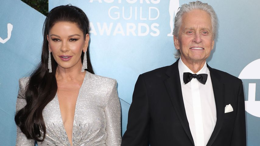 Catherine Zeta-Jones und Michael Douglas bei den SAG-Awards in L.A. im Januar 2020