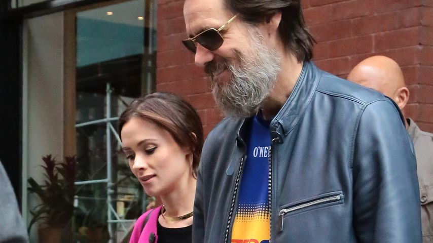 Cathriona White und Jim Carrey