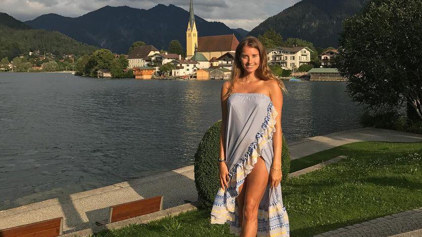 Sexy Schwanger-Look: Cathy Hummels mit XXL-Beinschlitz!