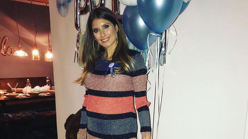 Blue Baby-Shower: Cathy Hummels feiert ihre Schwangerschaft!