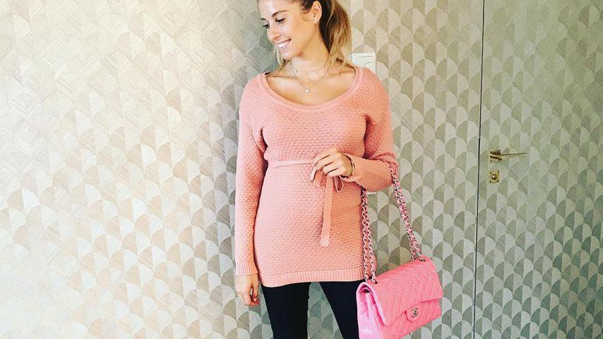 """Barbie"" Cathy Hummels: Baby-Bump ist schon richtig groß"