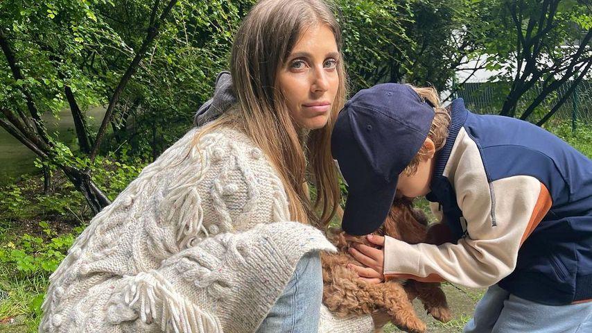 Cathy Hummels verrät: Sie ist oft mit Sohn Ludwig alleine