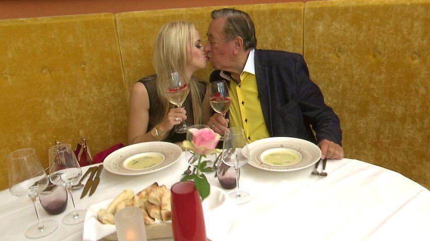 Cathy Schmitz und Richard Lugner