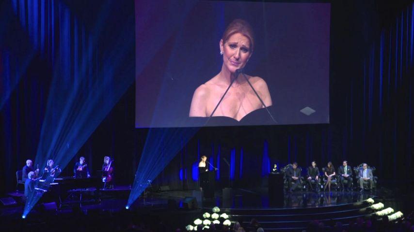 """Abschied von René: Céline Dion haucht letztes """"I Love You"""""""