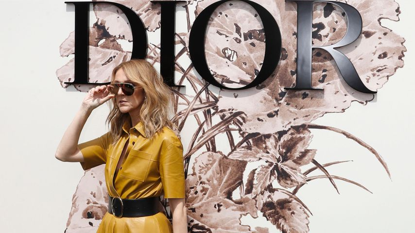 Celine Dion auf der Paris Fashion Week 2017