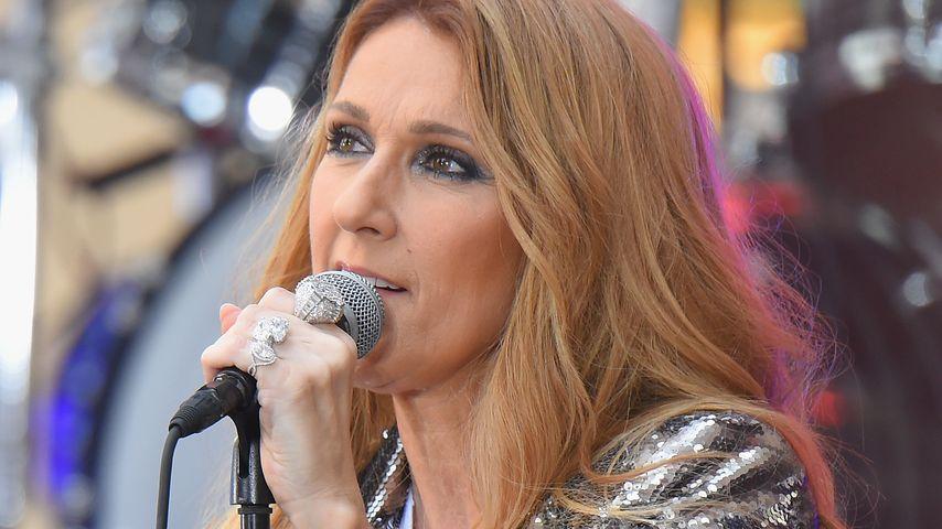 """Celine Dion bei einem Auftritt für die """"Today Show"""""""