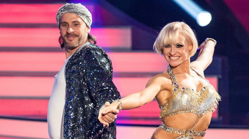 """Chakall und Marta Arndt bei der großen Kennenlernshow von """"Let's Dance"""""""
