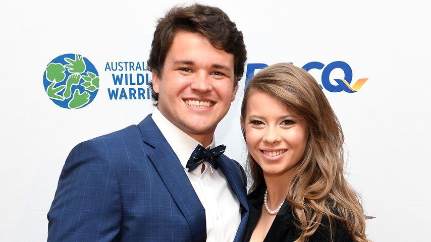 Chandler Powell und Bindi Irwin bei einem Galadinner in Brisbane im November 2019