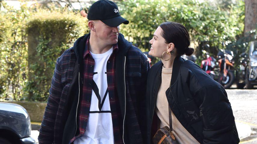 Channing Tatum und Jessie J im März 2019 in London