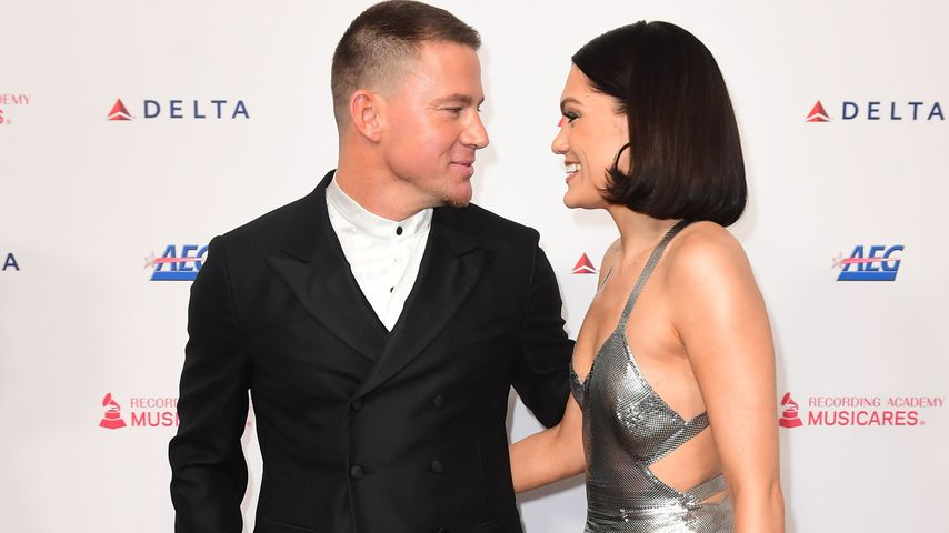 Channing Tatum und Jessie J im Januar 2020