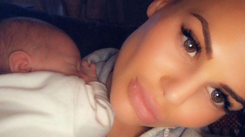 """Nach Horror-Geburt: """"Geordie Shore""""-Chantelle zeigt ihr Baby"""