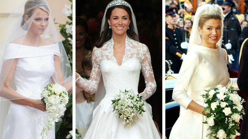 Spannung auf Meghans Kleid: Die schönsten Royal-Bräute