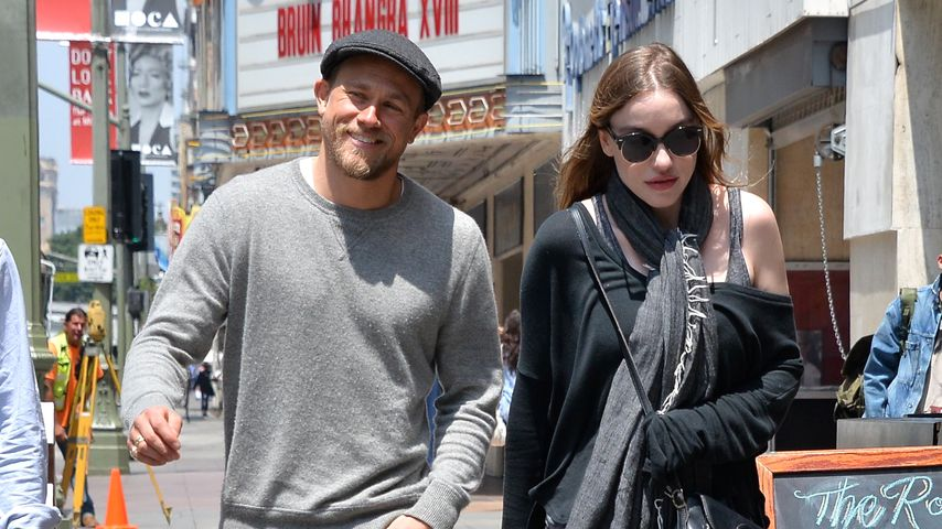 Charlie Hunnam mit Freundin Morgana McNelis in Los Angeles 2016