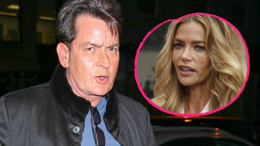 Zu arm? Charlie Sheen will Unterhalt an Exfrau Denise kürzen