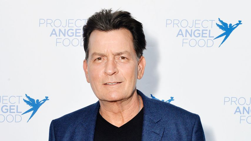 "Charlie Sheen, bekannt durch ""Two and a Half Men"""
