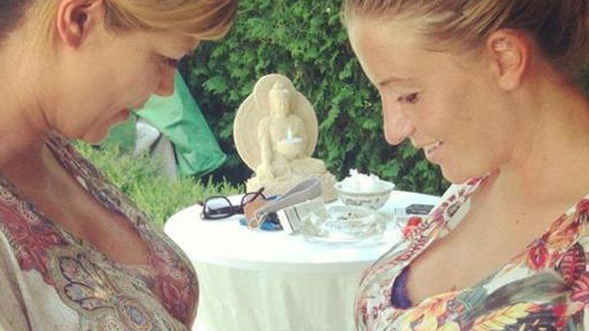 Charlotte Würdig stellt sich dem Baby-Bauch-Battle