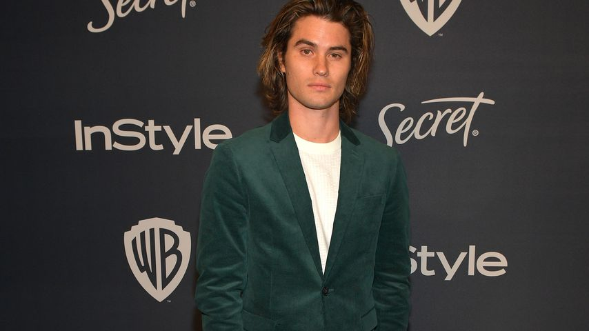 Chase Stokes bei der Golden Globes Afterparty in Beverly Hills im Januar 2020