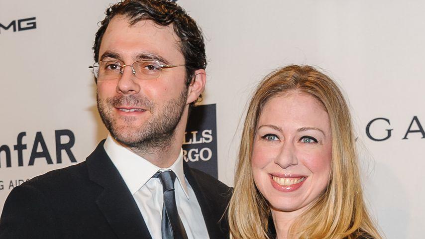 Chelsea Clinton: Ihr 1. Baby ist endlich da!