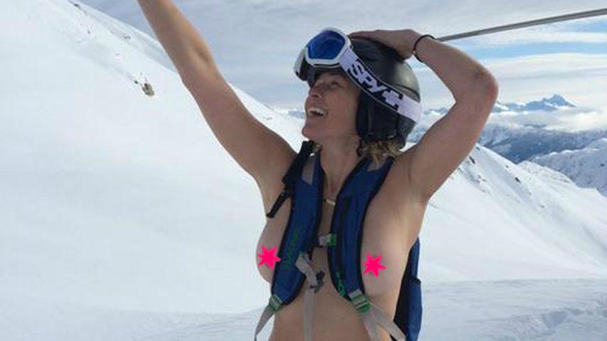 Pisten-Nackedei: Chelsea Handler sucht ihren Hund