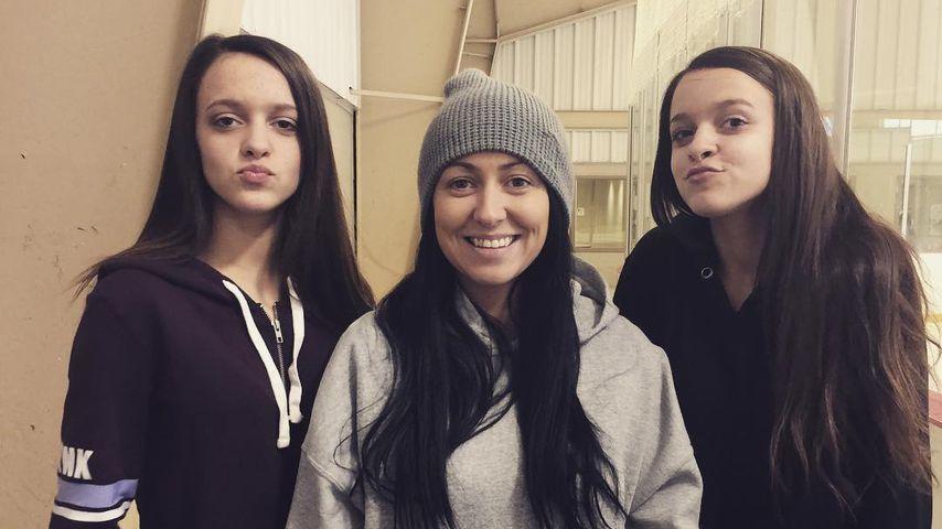 Chelsey Rebelo mit ihren beiden Nichten