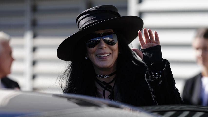 Cher im Februar 2018