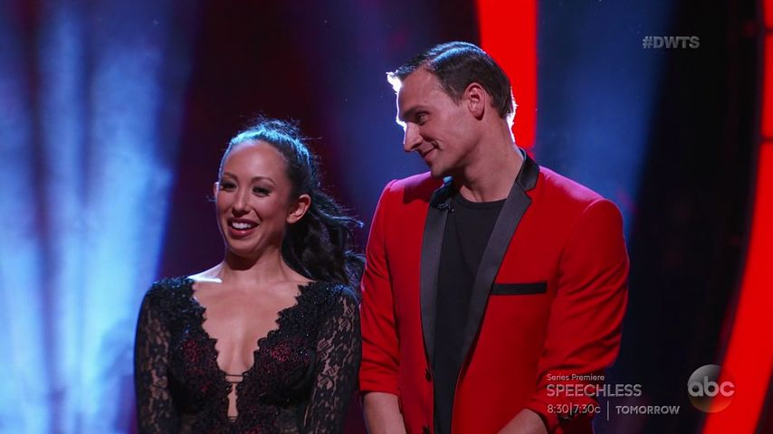 "Cheryl Burke und Ryan Lochte bei ""Dancing with the Stars"""