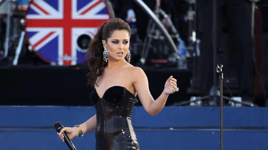 Cheryl Cole auf der Bühne in London
