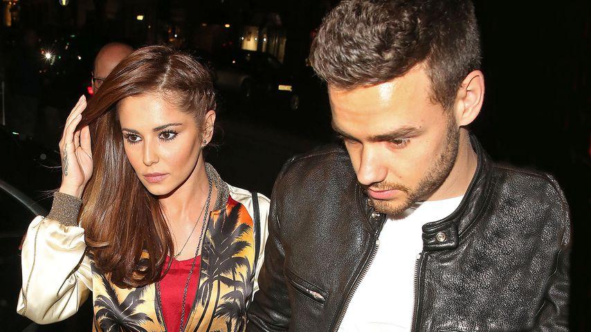 Cheryl Cole und Liam Payne in Mayfair, London