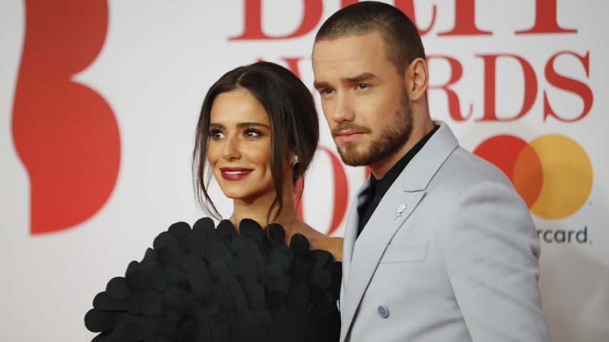 Sängerin Cheryl und Liam Payne bei den Brit Awards 2018 in London
