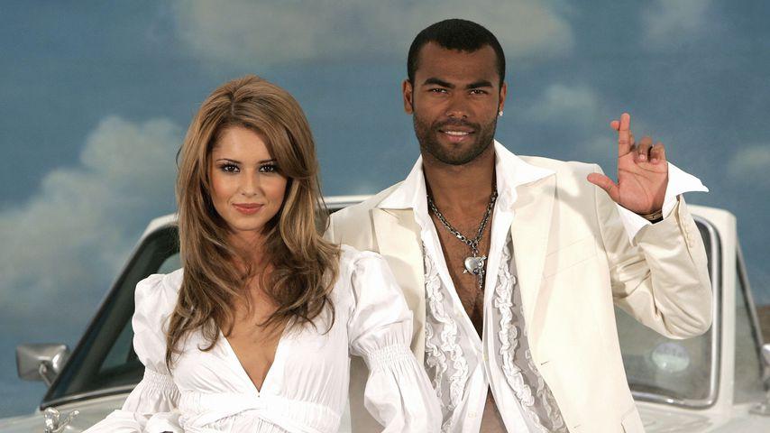 Cheryl und Ashley Cole, Juli 2011