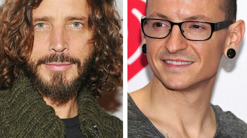 Chris Cornell und Chester Bennington