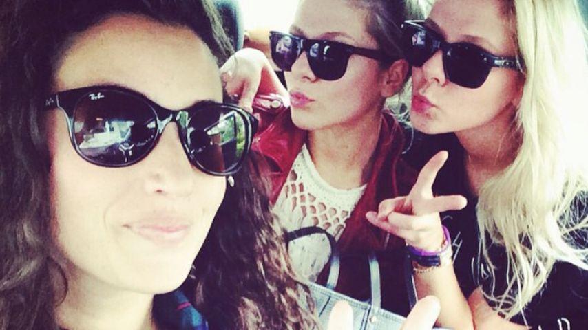 Nadine Menz, Valentina Pahde und Cheyenne Pahde
