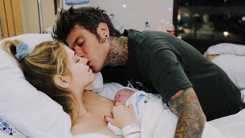 Bloggerin Chiara Ferragni: Sie zeigt zum ersten Mal ihr Baby