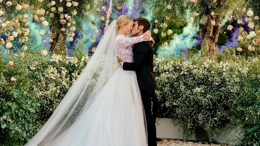 Sie hat Ja gesagt! Bloggerin Chiara Ferragni ist verheiratet