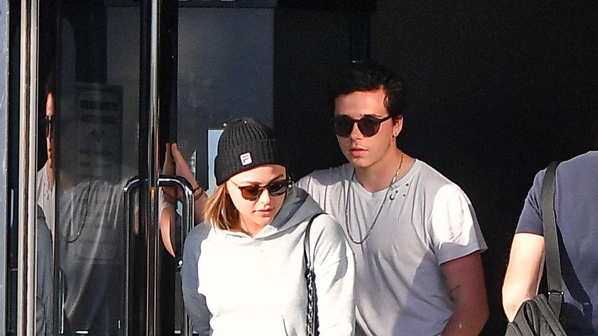 Chloë Moretz und Brooklyn Beckham verlassen ein Juweliergeschäft in Beverly Hills