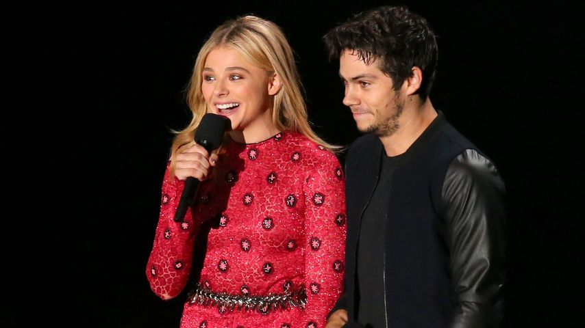 Chloë Moretz und Dylan O'Brien bei den MTV Video Music Awards 2014