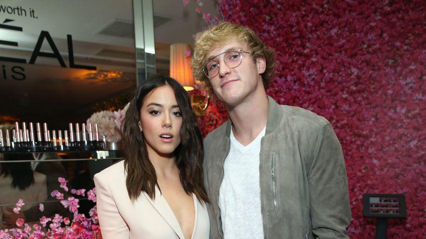 Chloe Bennet und Logan Paul im September 2017