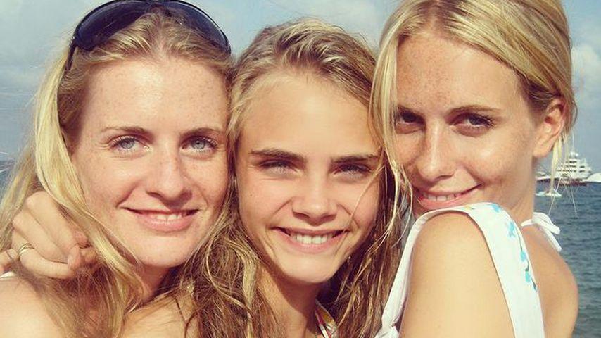 Chloe, Cara und Poppy Delevingne