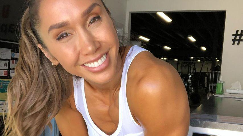 Mit Twins schwanger: Fitness-Star Chontel verrät Geschlecht