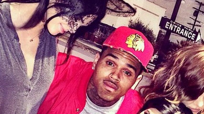 Kendall Jenner und Chris Brown