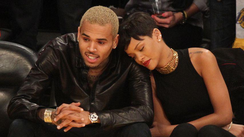 Wegen Unterhalts-Streit: Rihanna sorgt sich um Chris Brown