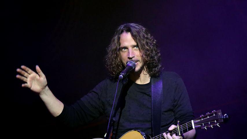 Chris Cornell bei einem Konzert in Manchester