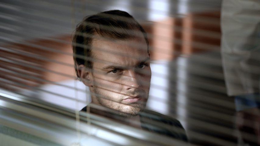 Chris (Eric Stehfest) in einer GZSZ-Szene