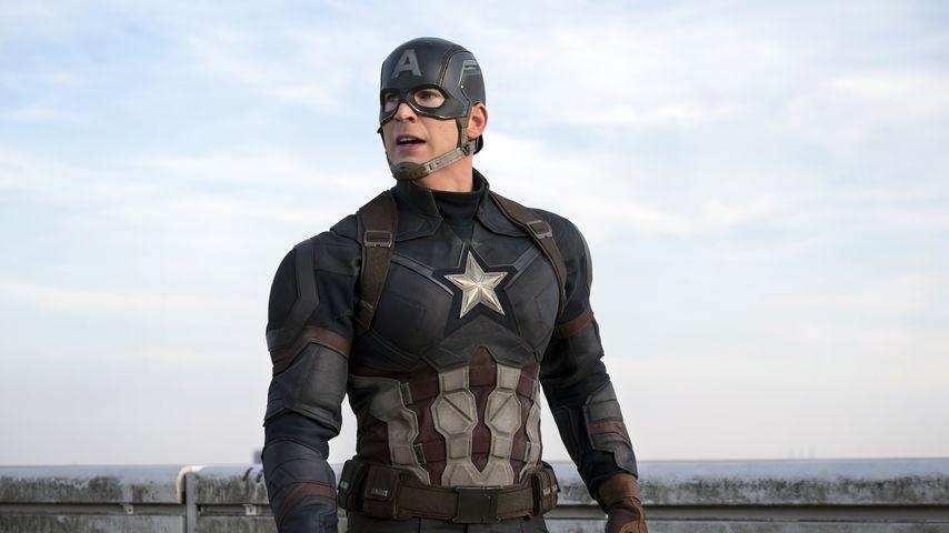 "Chris Evans als Captain America in ""The First Avenger: Civil War"""