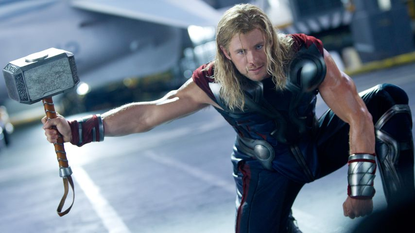 "Chris Hemsworth als Thor in ""The Avengers"""