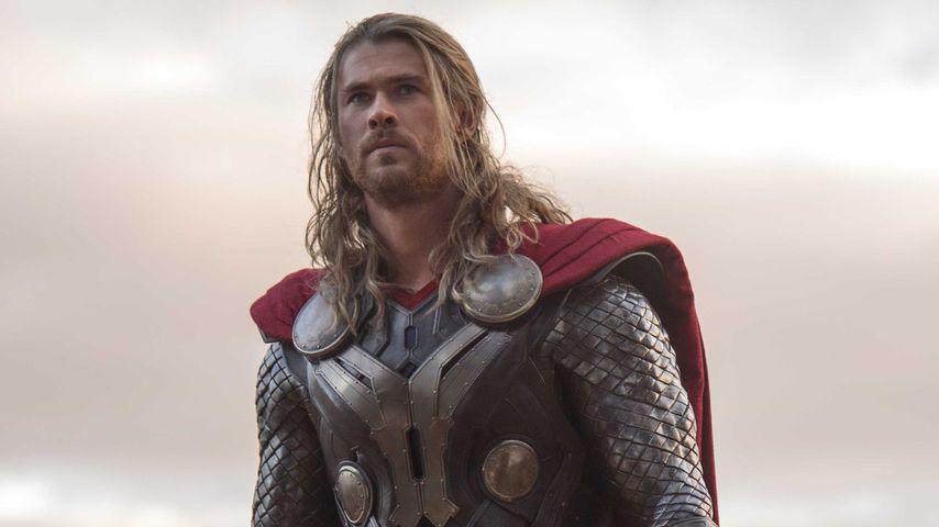 "Chris Hemsworth als Thor in ""Thor: The Dark Kingdom"""