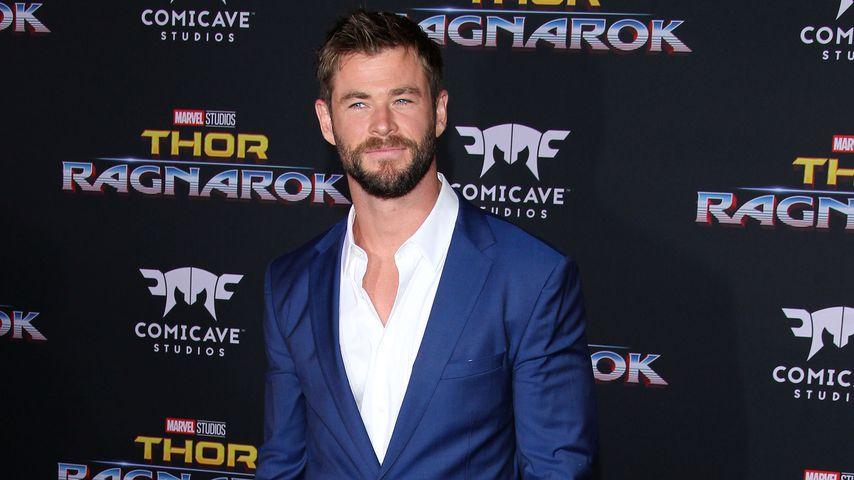 """Chris Hemsworth auf der """"Thor: Ragnarok""""-Premiere in Los Angeles"""